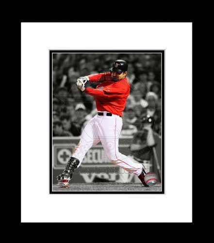Red Sox Adrian Gonzalez Spotlight Framed 8x10 Picture ()