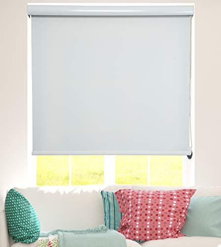 ShadesU Custom Cut-Size Room Darkening & Light Filtering Roller Shades Blinds Window Treatments (Maxium Height 72inch) Ecru Color