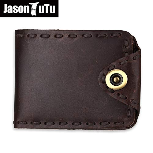 Amazon.com: Genuine Leather Wallet Women Men Wallets Ladies Purse Vintage Cowboy Style Handmade Real Cowhide Man Card Holder Purses: Kitchen & Dining