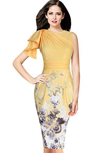 celeb yellow dress - 3