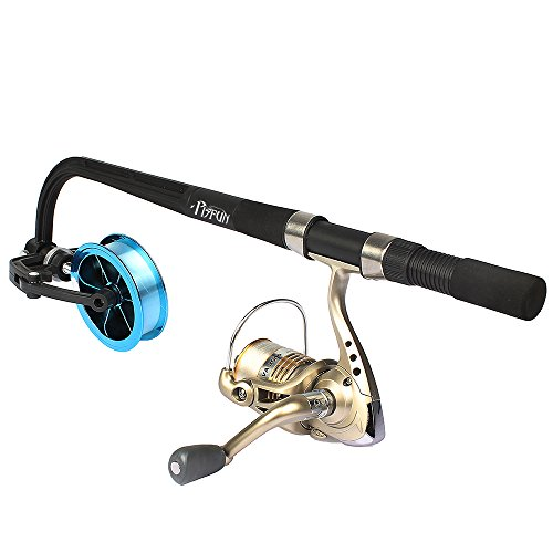 Goture portable fishing line spooler winding system for Fishing line spooler