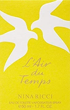 Lair du Temps by Nina Ricci for Women – 1.7 oz EDT Spray Packaging May Vary