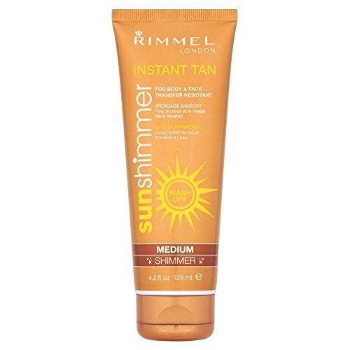 (Rimmel Sun Shimmer Instant Tan Medium Shimmer (125ml))