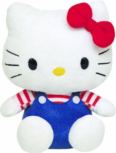 Ty Beanie Baby Hello Kitty - Usa (Hello Kitty Big Stuffed Animal)