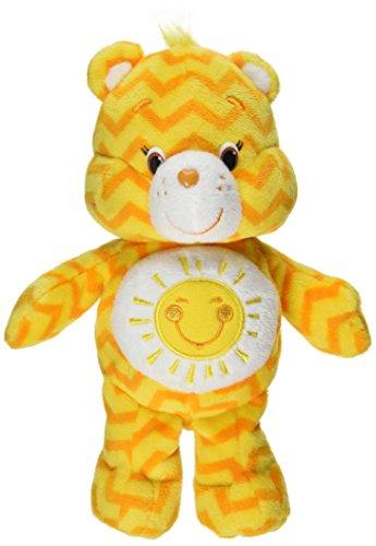Just Play Care Bears Chevron Bean Plush, Funshine - Funshine Bear Plush