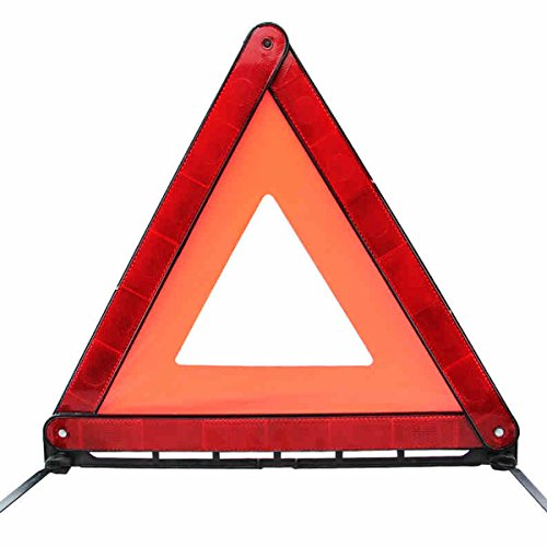 C'est Moi Car Warning Triangle Stop Sign Reflective