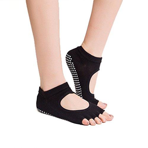 RUIXI-Womens-6-Pack-Yoga-Taekwondo-Fitness-Five-Fingers-Ankle-Socks-Socks