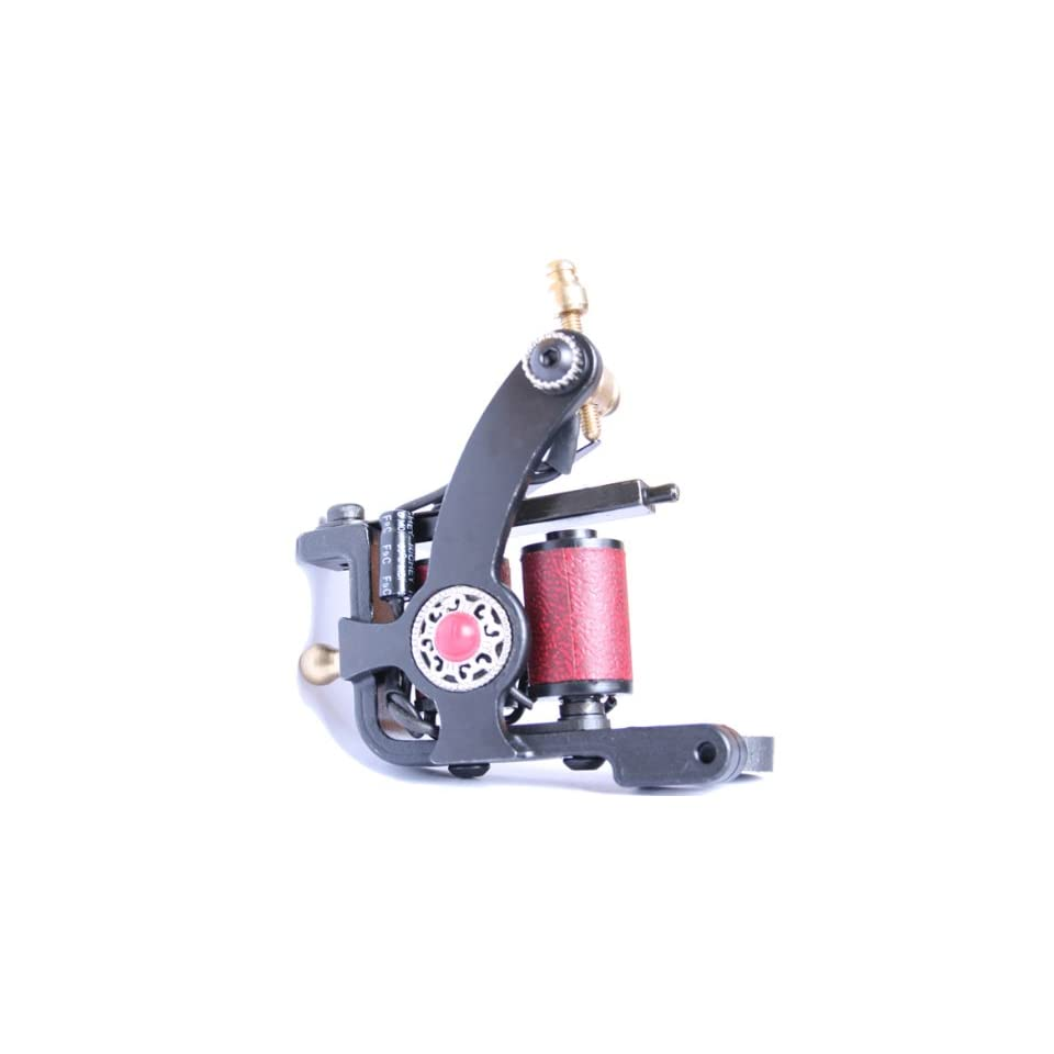 Liner Shader Handmade Tattoo Machine 10 wraps GUN e010836