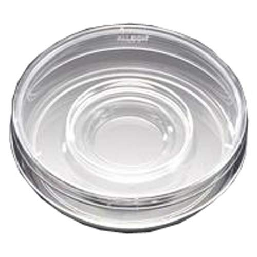 BD 353653 Falcon Clear Polystyrene Sterile Center Well In Vitro Fertilization Dish with Lid, 60mm Diameter x 15mm Height, 20mL Capacity (Case of 500)