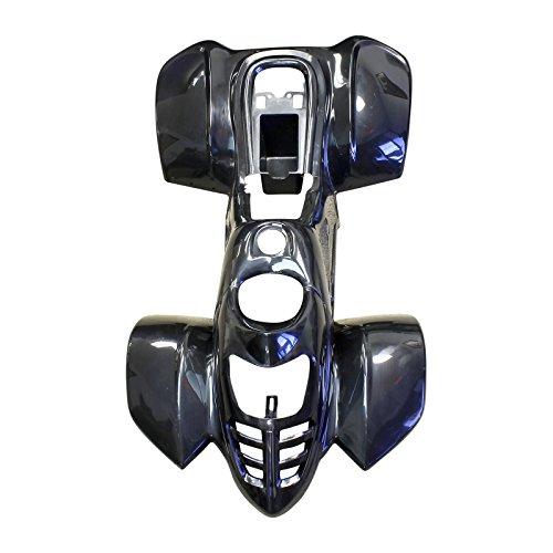 ATV Quad Body Plastic front rear fender fit Taotao only 110B 110cc Black