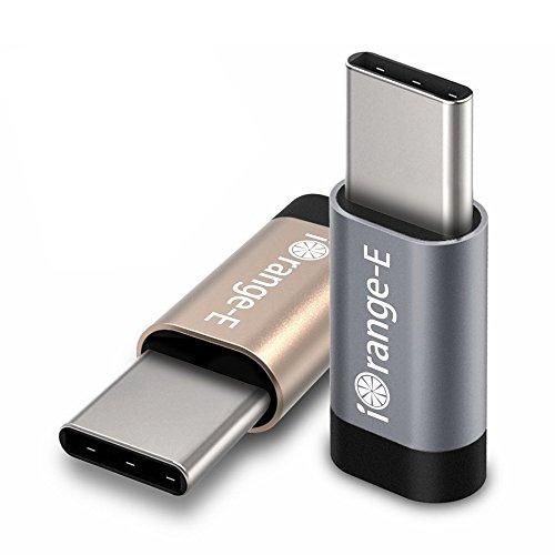 USB C to Micro USB Adapter, iOrange-E 2 Pack Type C Adapter