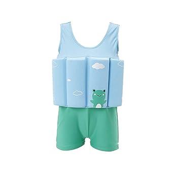 WSBBQ Chaqueta de Chaleco de natación para niños - Traje de baño ...