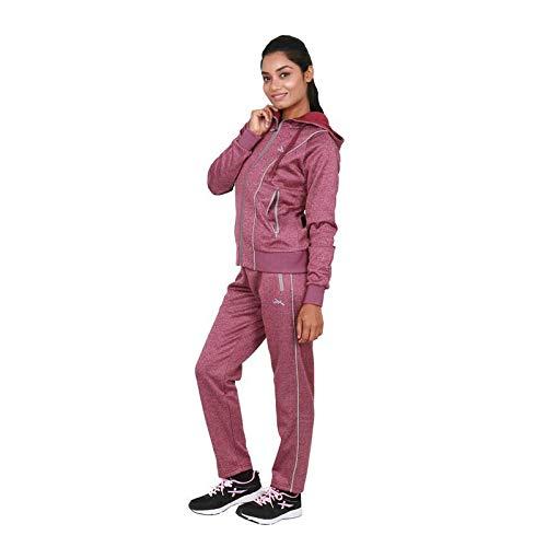 Vector X Wine-Hood Track Suit for Women