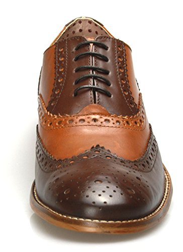 London Brogues Tan 11 Gatsby UK 44 EU Brown rradFqw