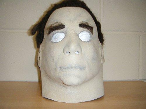 (Wrestling Masks Uk Michael Myers Monster Deluxe Latex Halloween Full Head Fancy Dress Costume)