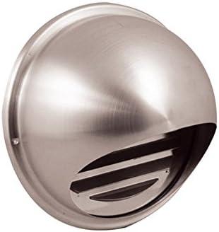Apertura de acero inoxidable para campanas extractoras y ventilación/persiana (exterior/Tubo Apertura/protectora/exterior Campana/exterior rejilla 102 mm: Amazon.es: Grandes electrodomésticos