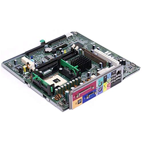 Genuine Dell K0057 Dimension 2400c, Dimension 4600c Small Form Factor (SFF) Systems Motherboard Logic Board Dell Compatible Part Numbers: K0057 (Renewed)