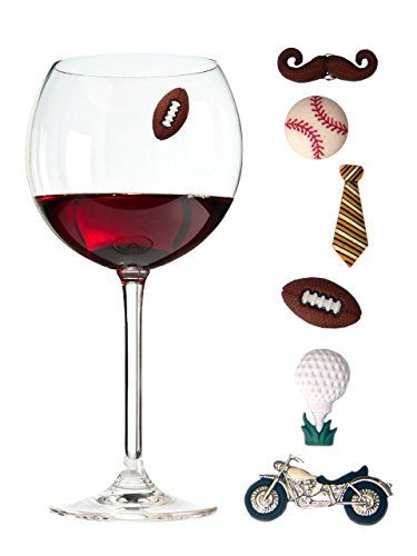 Wine Charms Magnetic Drink Markers product image