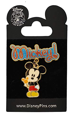 2007 Mickey Mouse - WDW Trading Pin - Cuties Character Dangle - Mickey Mouse