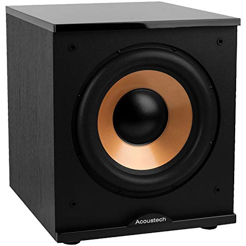 "BIC America 12"" 500W Powered Subwoofer Black H-100II"
