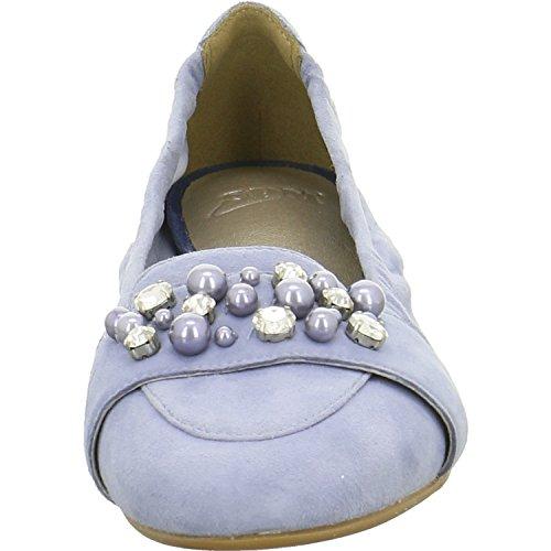 PMS SPM, Ballerines Pour Femme Bleu Bleu LT. Blue