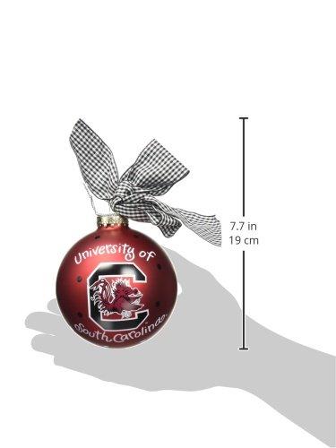 Coton Colors South Carolina Logo Glass Ornament
