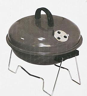Barbacoa de carbón Pendeford mesa redonda compacta Mini ...