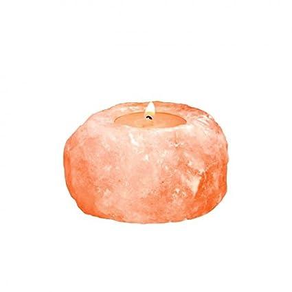 Amazon.com: Lámparas de sal del Himalaya Crystal sal velas ...