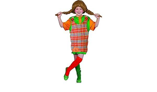 Fasching Fete - Niña Pipi Calzaslargas Disfraz con divertidos ...