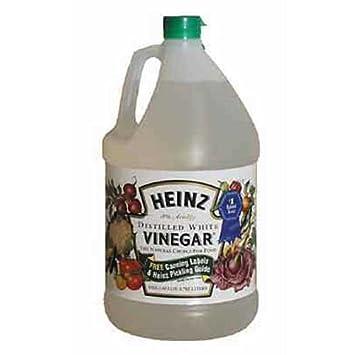 Amazoncom Heinz White Vinegar 1 Gallon White Wine Vinegars