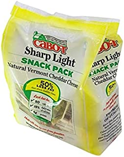 product image for Cabot Reduced Fat Snack Pack Cheddar Cheese, 36 ct