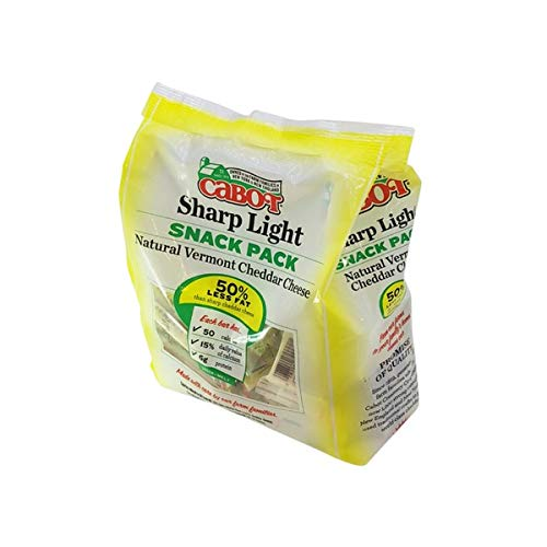 Cabot Reduced Fat Snack Pack Cheddar Cheese, 36 ct by Cabot (Image #4)