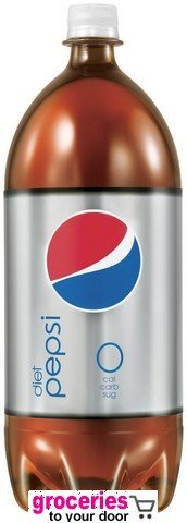 Pepsi Diet, 2-Liter (Pack of 6)