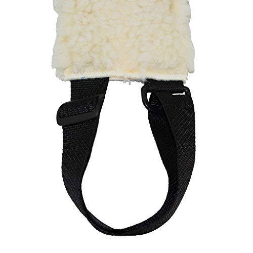 SGT KNOTS Support Harness Pet Sling for Large Dogs Sheepskin Like Rehabilitation Lift w/Adjustable Nylon Straps - for Hip Assist Stability, Injured, Disabled, Arthritis, ACL, Joint Pain, Elderly