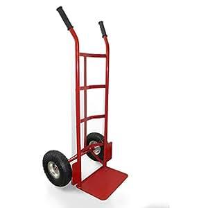 Carretilla manual de dos ruedas para cargar productos - Ruedas de carretilla ...