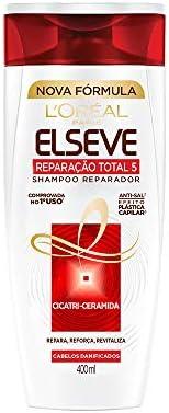 Shampoo Reparação Total 5+ Elseve L'Oréal Paris 400 Ml, L'Oréal Paris
