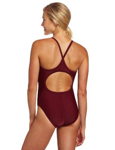 TYR Sport Women's Solid Diamondback Swim Suit