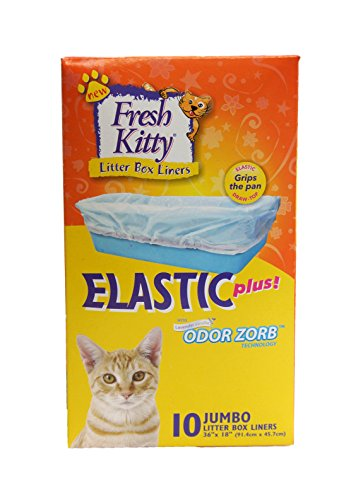 Fresh Kitty Super Jumbo Super-Thick Litter Box Liners