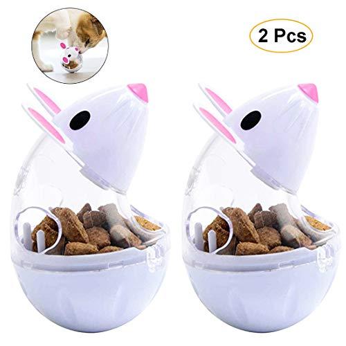 VIKEDI Snackball Katze, Intelligenzspielzeug Für Katzen,Katzenspielwaren,Haustier Katze Lernspielzeug,IQ Leckerli…