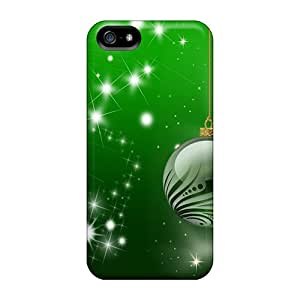 Cute ChrisHuisman Green Christmas Cases Covers For Iphone 5/5s