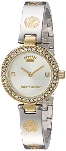 [Juicy Couture Women's 'CALI BANGLE' Quartz Stainless Steel Casual Watch, Color:Two Tone (Model: 1901531)] (Movado Bangle Watch)