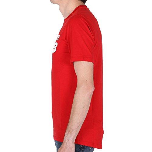 Blanc Balance Homme Athletics Logo New T Main rouge Nb T shirt pqUBd1zn