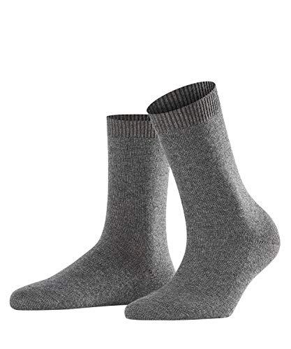Falke Women's Cosy Wool Socks, Grey Mix, US 8-10.5 (size: 39-42)