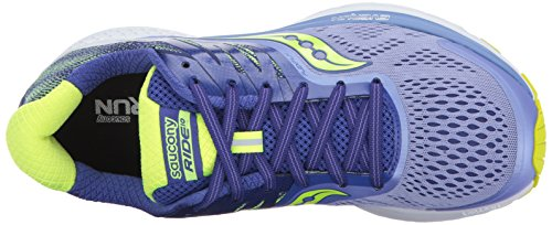 Citron Chaussures 10 Femme Purple Saucony de Ride Running 0gwqE1q