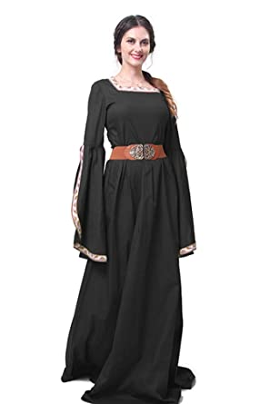 Amazon.com: Women Renaissance Costumes Vintage Plus Size Medieval ...