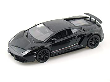 Lamborghini Gallardo Lp 570 4 Superleggera 1 36 Negro Amazon Es