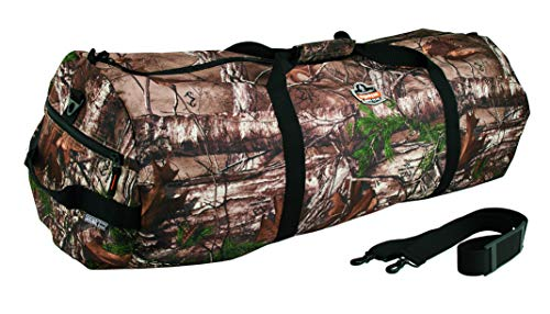 Travel Duffel Bag, Hunting Fishing Gear, RealTree Camo, Large, Ergodyne Arsenal