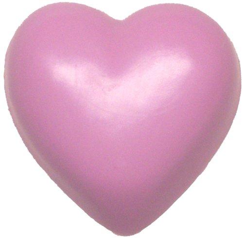 Heart Soap, Raspberry Lemonade, Opaque Pink