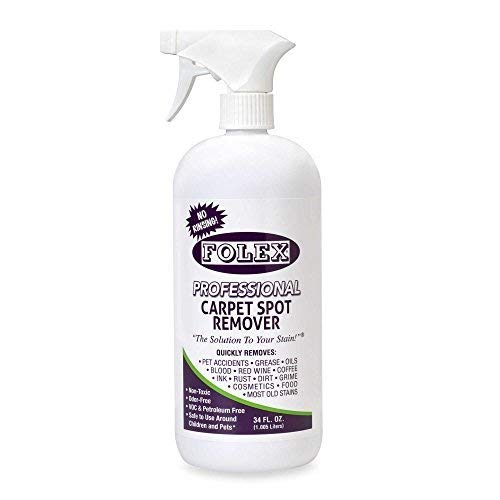 Folex Professional 34 oz. Carpet Spot Remover | Made in USA | Non-toxic by Product Folex (1) (34, 1)