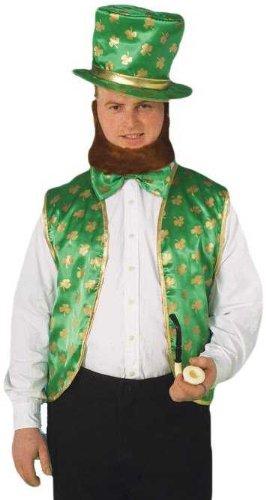 [Forum St. Patrick's Day Leprechaun Costume Kit, Green/Gold, One Size] (St Patrick The Saint Costume)